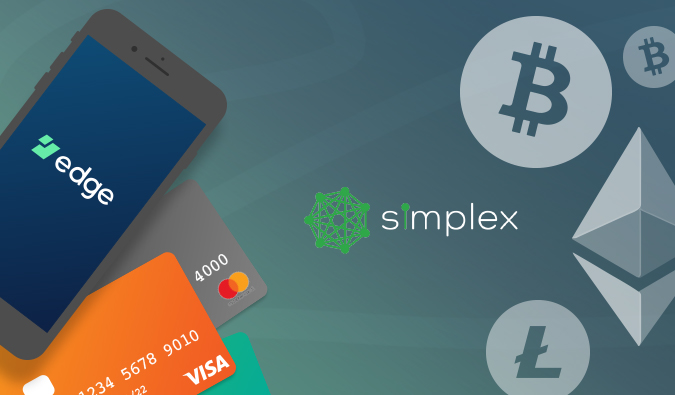 Edge's European users can now sell several different cryptocurrencies including Bitcoin, Ethereum, and XRP directly to their Visa credit card through our exchange partner, Simplex.