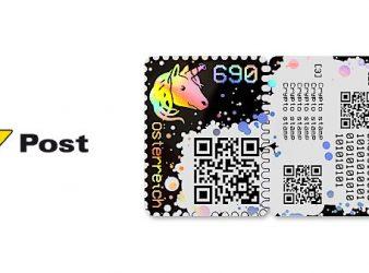 Wien Blockchain Postmarke